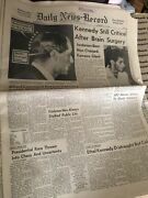 Lot Vintage Rfk Newspapers- 1963 And 1968 And death