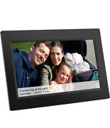 10 Inch Wifi Digital Picture Frame - Electronic, Wall Mountable Smart Frames