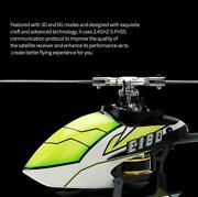 E180 6ch Rc Helicopter Rtf 3d6g System Dual Brushless Direct Drive Motor Xmas
