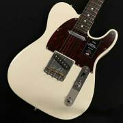 Fender American Professional Ii Telecaster Rosewood Fingerboard Olympic White