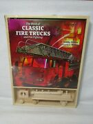 The Book Of Classic Fire Trucks And Firefighting Hc By Teddy Slater With Model