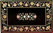30and039and039x17and039and039 Marble Table Top Antique Mosaic Dining Coffee Corner Center Inlay O149