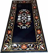3and039x2and039 Marble Dining Coffee Corner Center Inlay Table Top Antique Mosaic O140