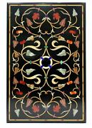 4and039x2and039 Marble Table Top Antique Mosaic Dining Coffee Corner Center Inlay O157