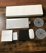 New Apple A1314 A1296 Wireless Bluetooth Keyboard W/ Mouse