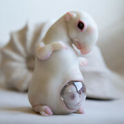 Weird Hybrid Tapir Animal Figurines, Pregnant Alien With Baby Embryo Cocoon Toys