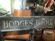 Early Antique Smelts Advertising Sign