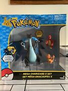 Mega Charizard X Set Figure Toy Feel Free To Offer