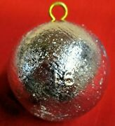 10 1lb Lead Cannonball Weight Sinker With Brass Eyes Deep Drop Free Shipping