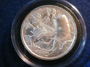 The Whale Ultra High Relief Privateer Series 2 Oz .999 Silver Bu