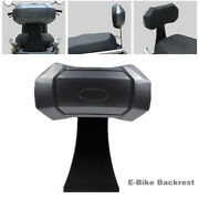 Universal Bike Backrest Cushion Rack Pad For Scooter Electric Bicycle Motorcycle
