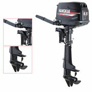 Gasoline 6.5hp 4stroke Outboard Motor Engine Power For Sailboats Small Yachts