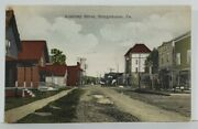 Shinglehouse Pa Academy Street 1909 To Fitch Family Franklinville Postcard N10