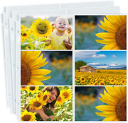 Dunwell Photo Album Refill Pages 12x12 - 4x6 Landscape 10 Pack Holds 120 4...