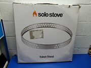 Solo Stove Yukon 27 Stand Stainless Steel Fire Pit Accessory Fireplace Tools...