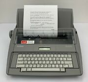 Brother Sx-4000 Portable Daisy Wheel Electronic Typewriter With Cover