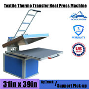 220v 31 X 39in Clamshell Thermo Sublimation Transfer Heat Press Machine 6600w 1p