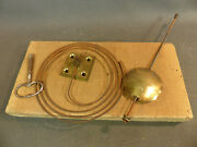 Batch 3 Parts Clock Chime Pendulum Spiral And Key Parts Timepiece