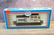Vintage Model Power Electric Trains Ho-scale Amtrak 87 Twin Lights Toy Train 70s