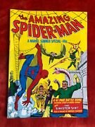 Amazing Spider-man Summer Special Rare Uk Rp Spider-man Annual 1 Sinister Six
