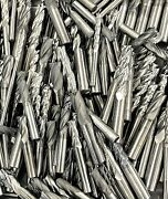 2 Lb's Solid Carbide End Mill Lot - Diff Sizes - Machinist - New Shipment
