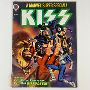 Kiss Marvel Super Special Comic Book Vol. 1 No. 2 With Poster Vintage 1978