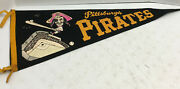 Vintage Pittsburgh Pirates 60's Pennant