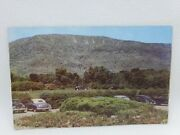 Vintage 1940's Mt. Equinox View From Ekwonak Country Club Vermont Postcard