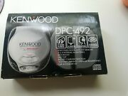 Kenwood Dpc-492 Portable Cd Player With Bass Booster