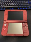 Nintendo 3ds Xl W/ 3 Games Adult Owned Flawless