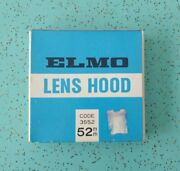Elmo Collapsible Lens Hood Code 3552 52mm New Old Stock