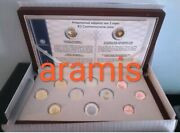 Best Price🅰️ Greece 2018🅰️proof Set 8 Coins🅰️+2 Coins Commemorative Of 2 Euro