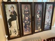 Disney Haunted Mansion Ride Stretching Room Portraits 25x64 - Pickup Only