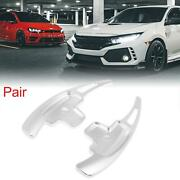 2 Silver Steering Wheel Shifter Extension Paddle For Mercedes-benz E550 Sl550