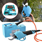 Dc36v Electric Garden Pruning Shear For Grape Branch 45mm/pear Wood Branch 30mm
