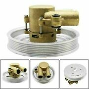Raw Water Pump + Serpentine Pulley For Volvo Penta 4.3 5.0 5.7 V8 V6 Gxi Engines