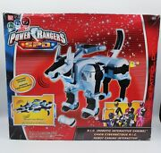 Power Rangers Spd Ric Robotic Interactive Canine Police Dog Brand New Sealed