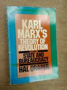 Karl Marxand039s Theory Of Revolution Pt. 1 State And Bureaucracy By Hal Draper B658