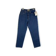 L.l. Bean Flannel Lined Double L Jeans Size 6x30 High Waist Mom Jeans 2012