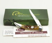 New With Box Ducks Unlimited Case Xx 610096 Antique Bone Toothpick Pocket Knife