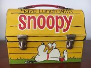 Snoopy Dome Metal Lunchbox 1968 Excellent