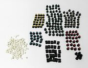 Button And Knobs - Huge Lot Of 150+ Faders Buttons And Colored Knobs