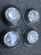 """Ford 1965-1966 Hubcaps For Police, H/p, Taxi, Full Size Passenger Car. 10-1/8 """""""
