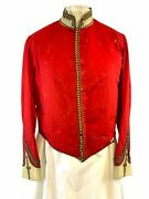 Victorian British Officers Scarlet Mess Jacket 36 Chest