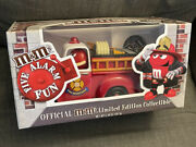 Mandmand039s Five Alarm Fun Red Fire Engine Candy Dispenser Limited Edition Collectible