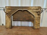 Original Early 1900and039s Ford Model T Era Wooden Firewall