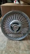 Ford Mustang Falcon Fairlane Wire Spoke Hubcaps 1963 1964 1965