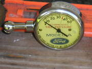 Refurbished Vintage Model A Ford Us Tire Gauge Antique Pouch Tool Accessory Part