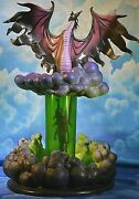 Wdcc Sleeping Beauty Maleficent Transformation Title Evil Eruption 186 Of 500