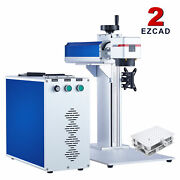 Omtech 20w 8x8 In. Fiber Laser Marking Machine For Metal With Xy Workbed